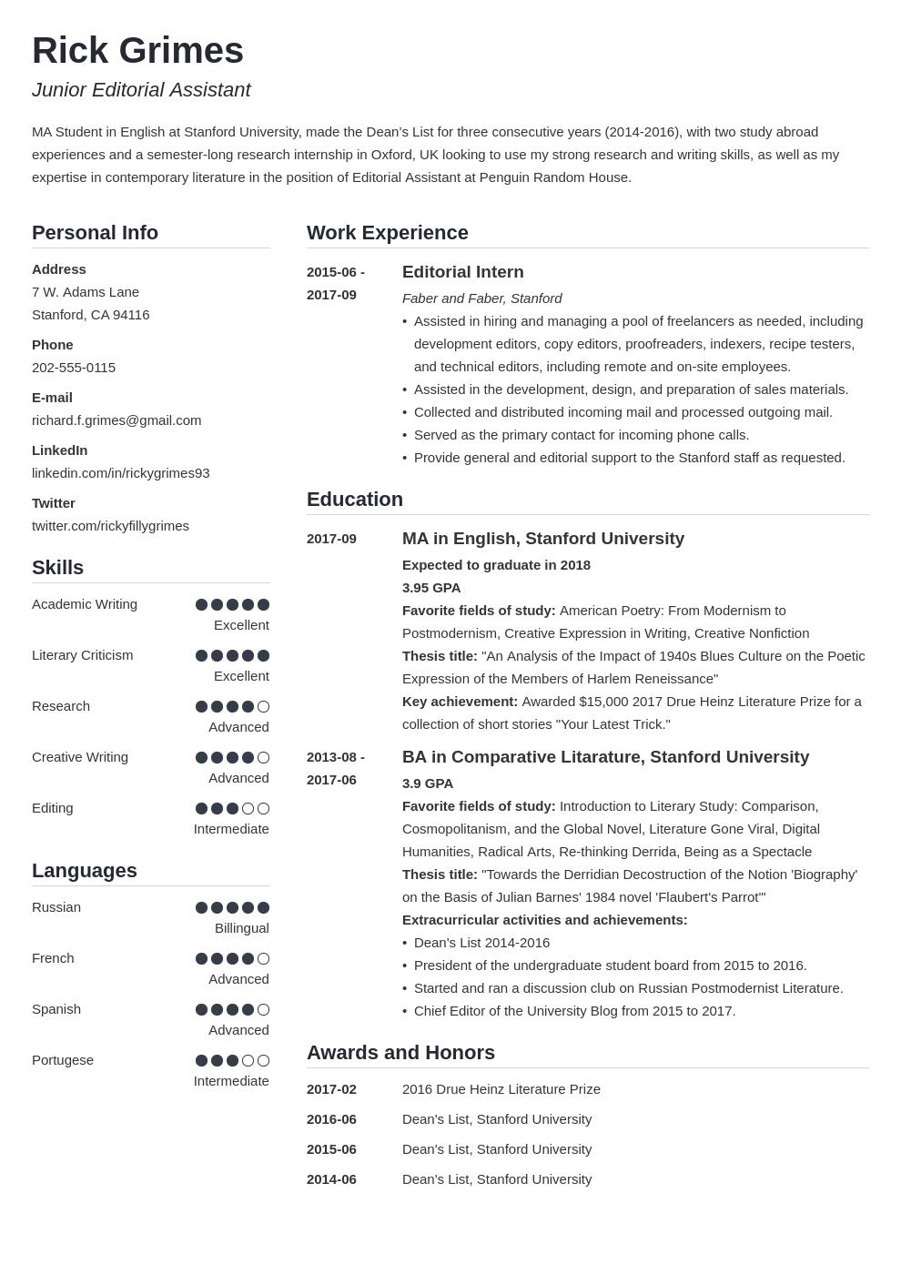 graduate cv template simple in 2020 Student cv examples