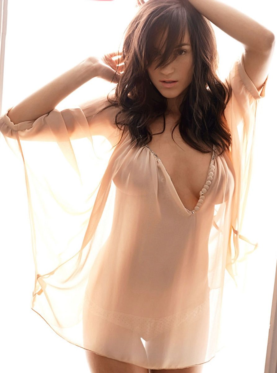 See sun shining through dress - Rosie Jones