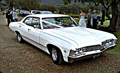 Chevy Weddings 1967 Chevrolet Impala Sedan Chevrolet Impala