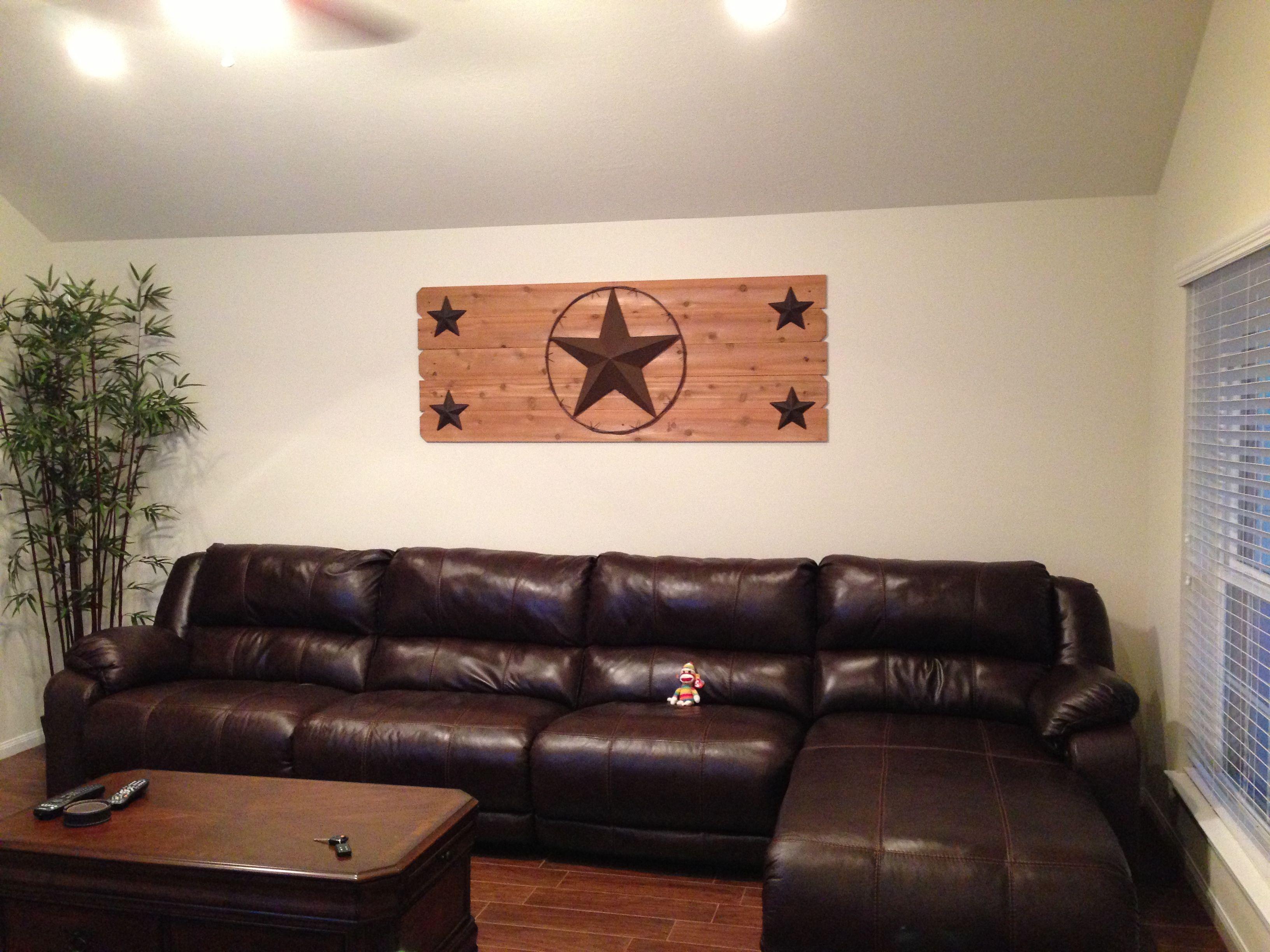 Texas Star Wall Art