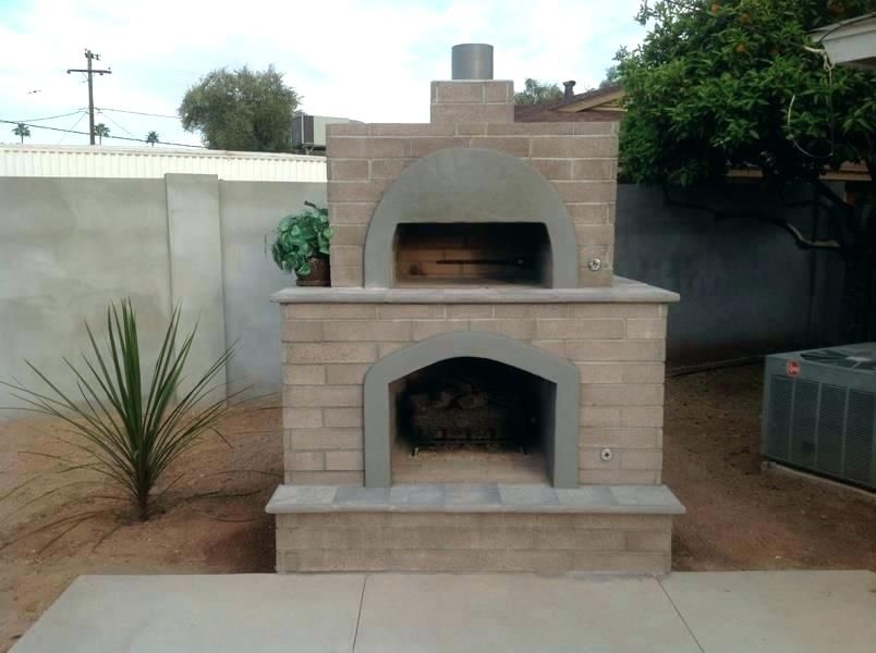 Outdoor Fireplace Pizza Oven How To Build Insert And Combination