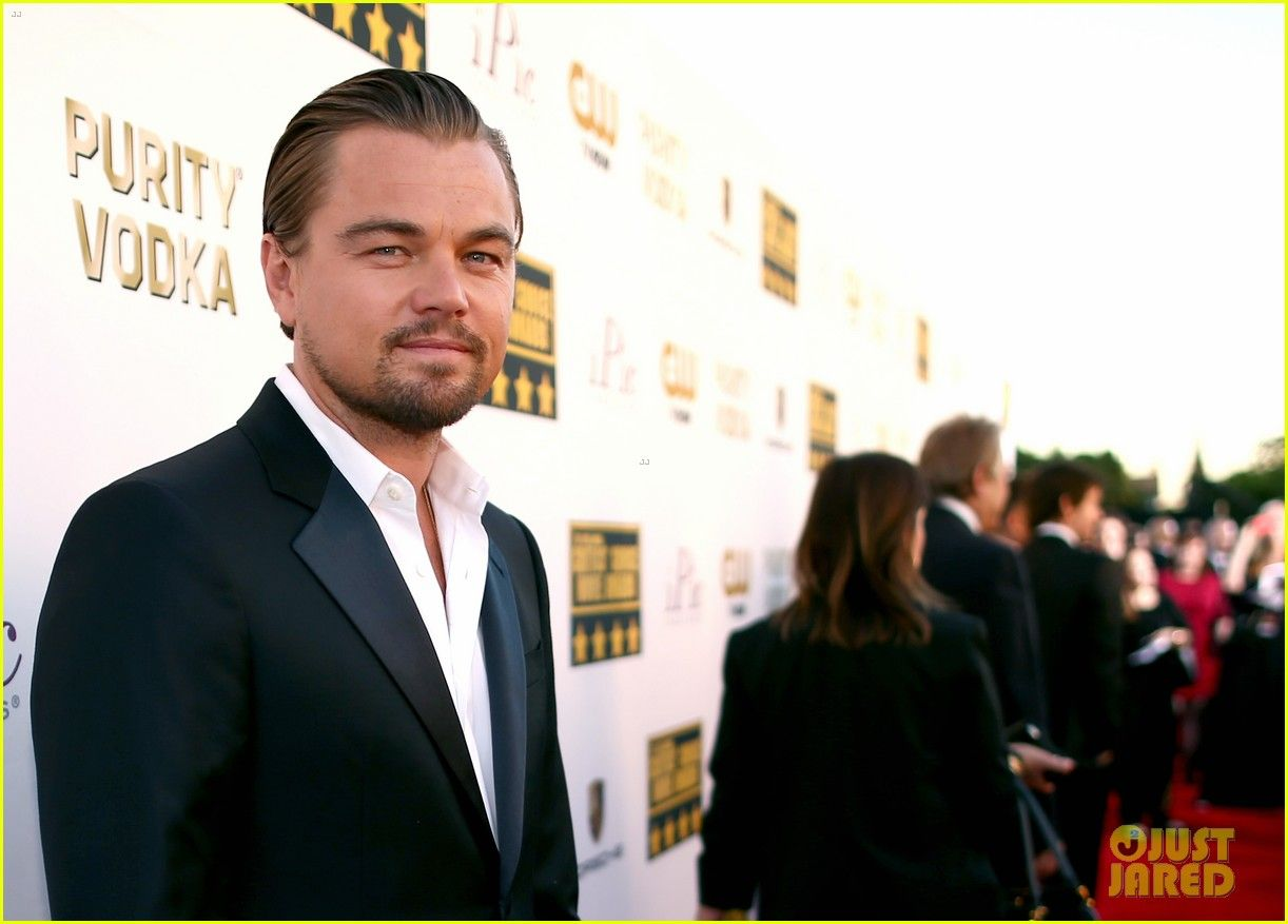 Leonardo DiCaprio at Critics Choice awards 2014