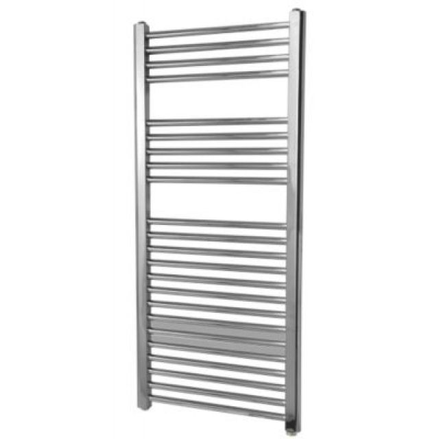 Flomasta Flat Electric Towel Radiator 1100 X 500mm Chrome Towel Radiator Radiators Chrome