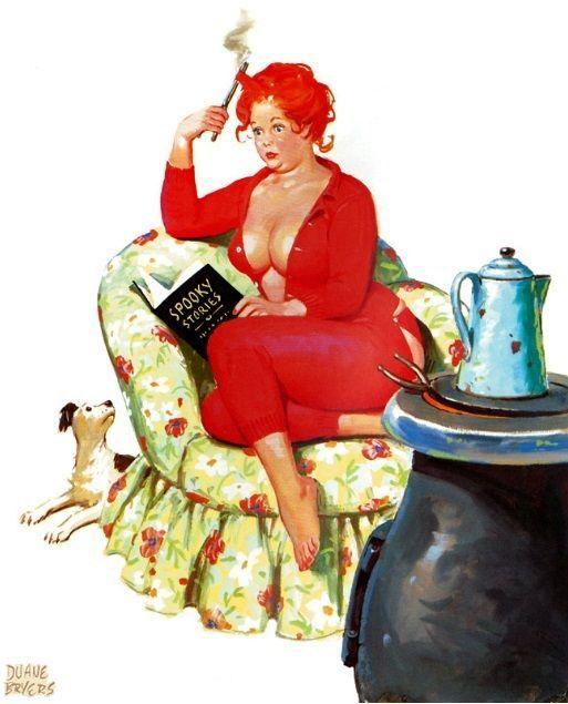 Duvar Sanat Baskı resim Üreme Vintage Seksi Pin-up Girl ...