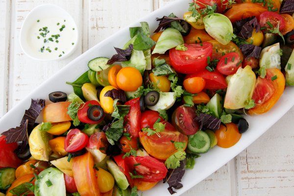 Dazzle guests with this Heirloom Tomato Antipasti presentation. Dish best menus @Chefya_ http://ow.ly/XREtw
