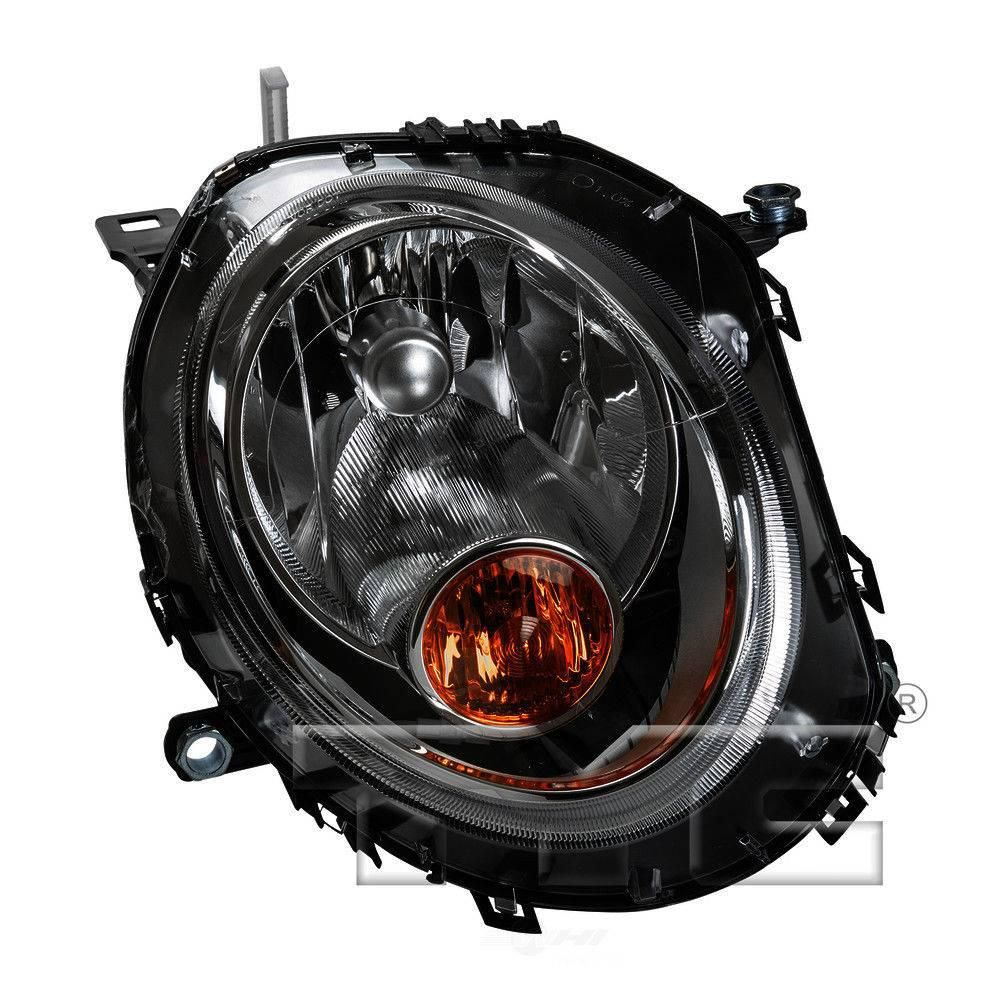 Tyc Headlight Assembly 2007 2013 Mini Cooper 1 6l 20 6887 00 1 The Home Depot In 2021 Headlight Assembly Tyc Mini Cooper
