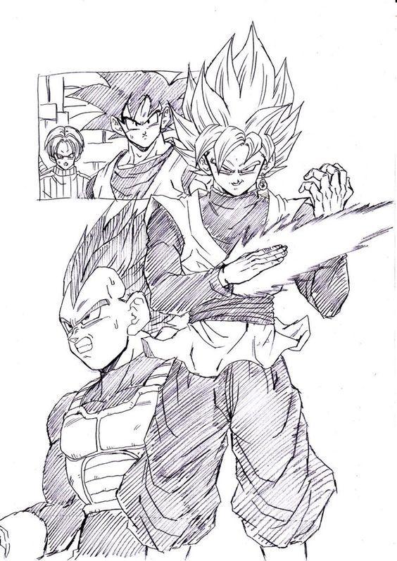 Pin by sofyan man on fan art manga balle de dragon - Comment dessiner trunks ...