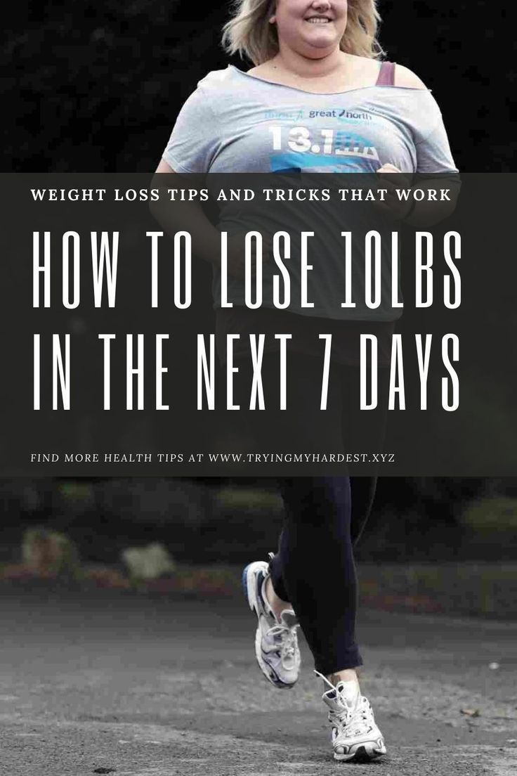 10 doable steps to lose 10 pounds in 7 days | weight loss plans for women | weight loss plans for wo...