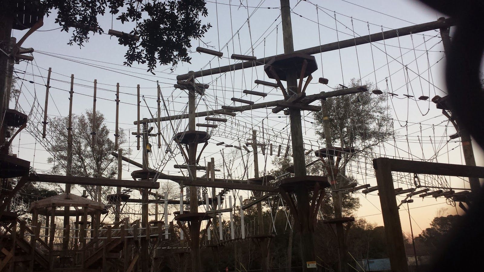 Wild Blue Ropes Challenge Course on James Island ...
