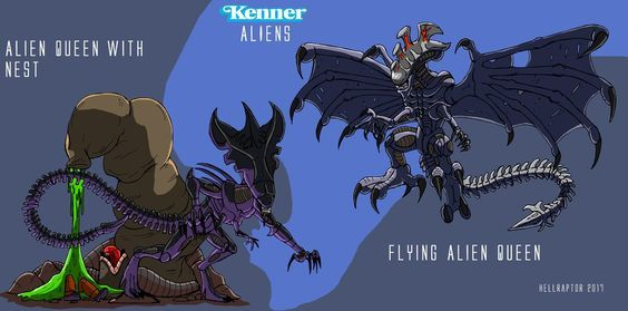 Xenomorph Queen Kenner Xenomorphs In 2019 Alien Queen Alien