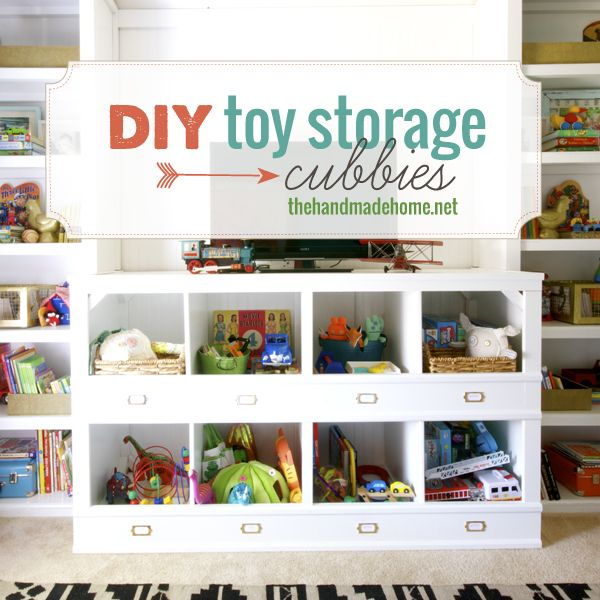 Itu0027s A New Year And That Means Itu0027s Time To Get Organized. One Of The. Diy  Toy StoragePlayroom ...