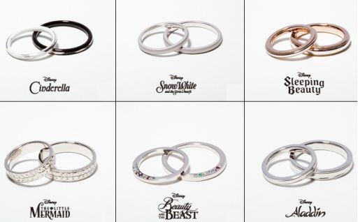 Jam Home Made X Disney Princess Wedding Ring Series Disney Wedding Rings Disney Princess Wedding Rings Disney Princess Wedding