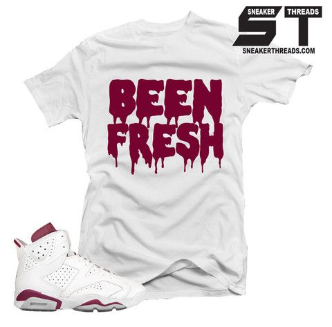 f5fe3fb4c57cd1 Shirts match Jordan 6 maroon retro 6 s sneaker tees.