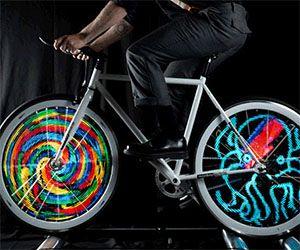 Bike Spoke Decorations Waterproof 2mode Flash Led Cycling