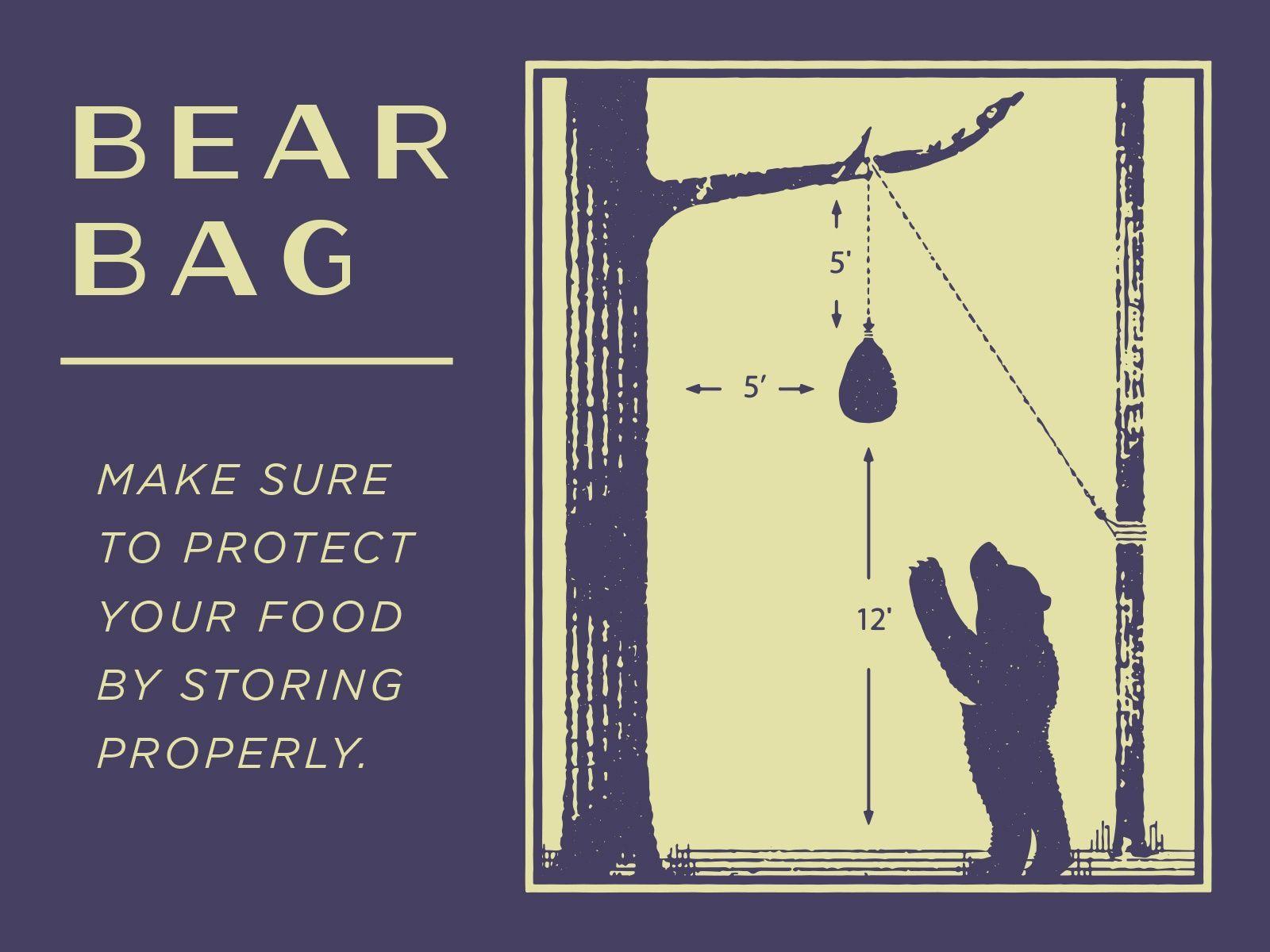 Bear Bag By Jared Owen Snavely Dribbble Design