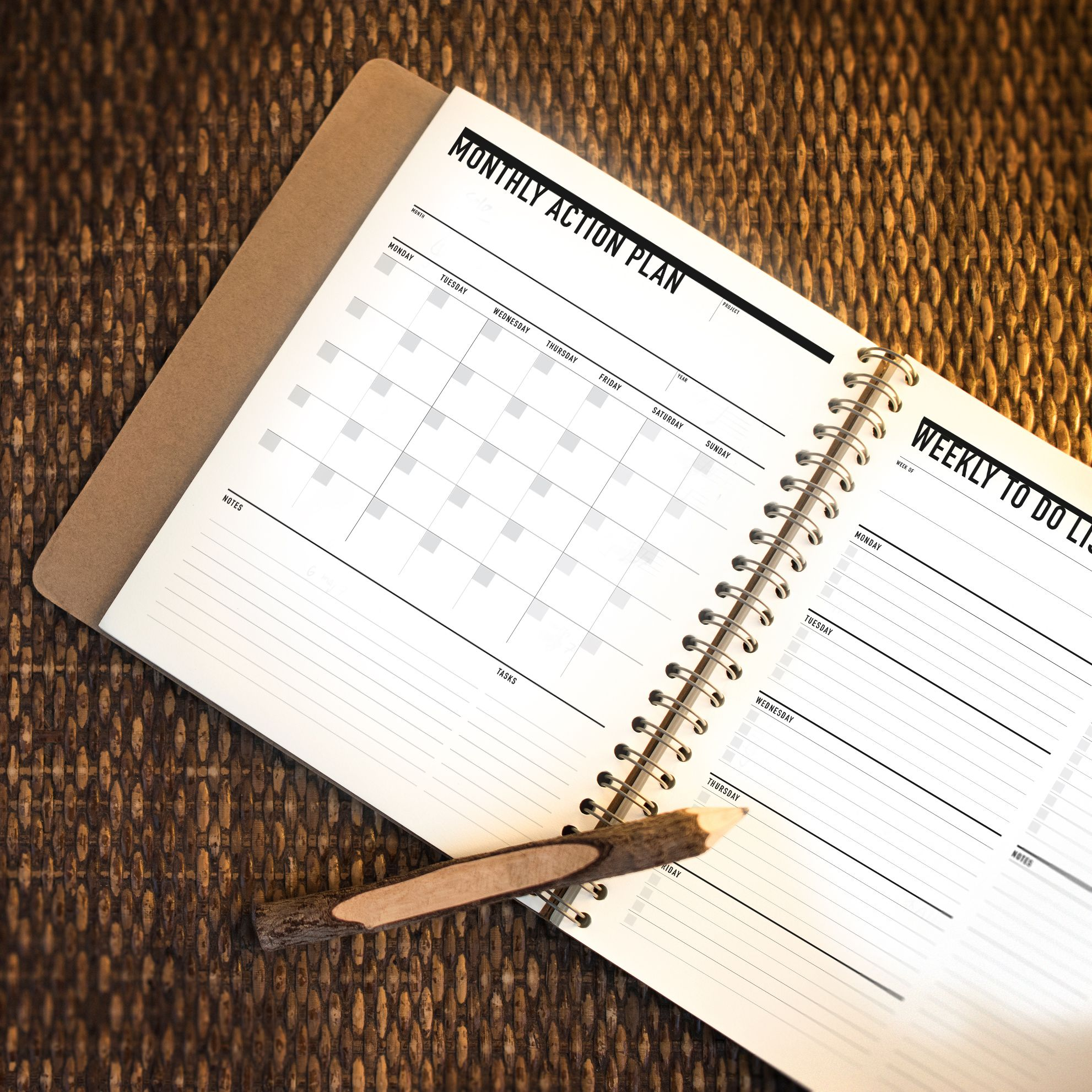 Personal Monthly Planner Bundle Personal Organizer