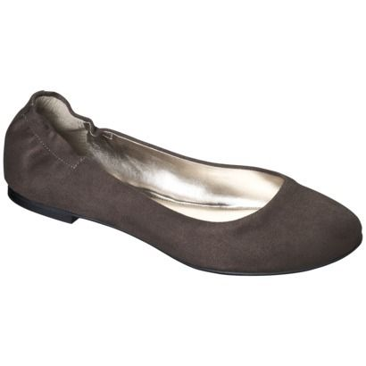 Women's Mossimo Supply Co. Ona Ballet Flat - Taupe $7.48!