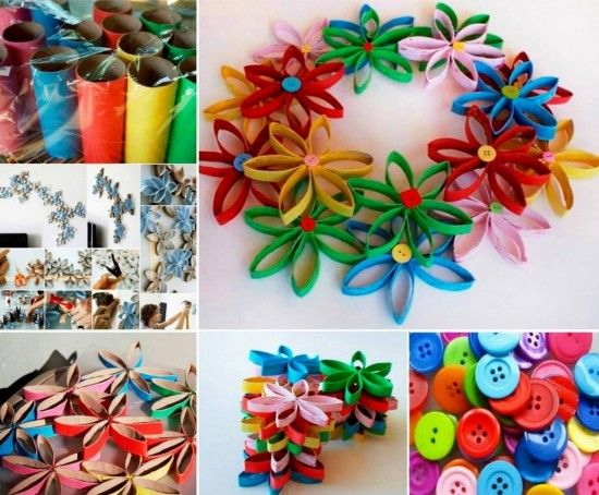 Toilet Paper Roll Flowers All The Best Ideas The Whoot Paper Roll Crafts Crafts Toilet Paper Roll Crafts