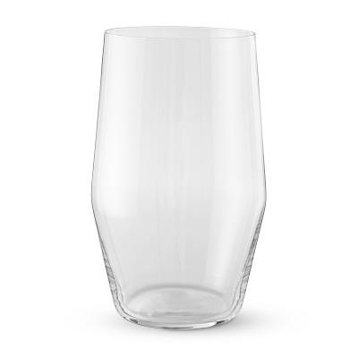 Williams Sonoma Oblique Highball Glasses Bar Glassware Bar Glasses Highball Glasses