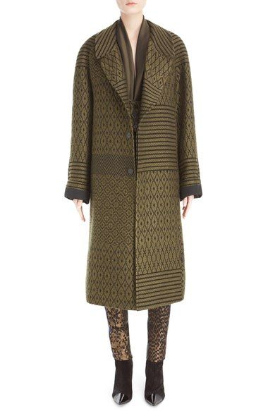 Haider Ackermann Woven Jacquard Coat available at #Nordstrom