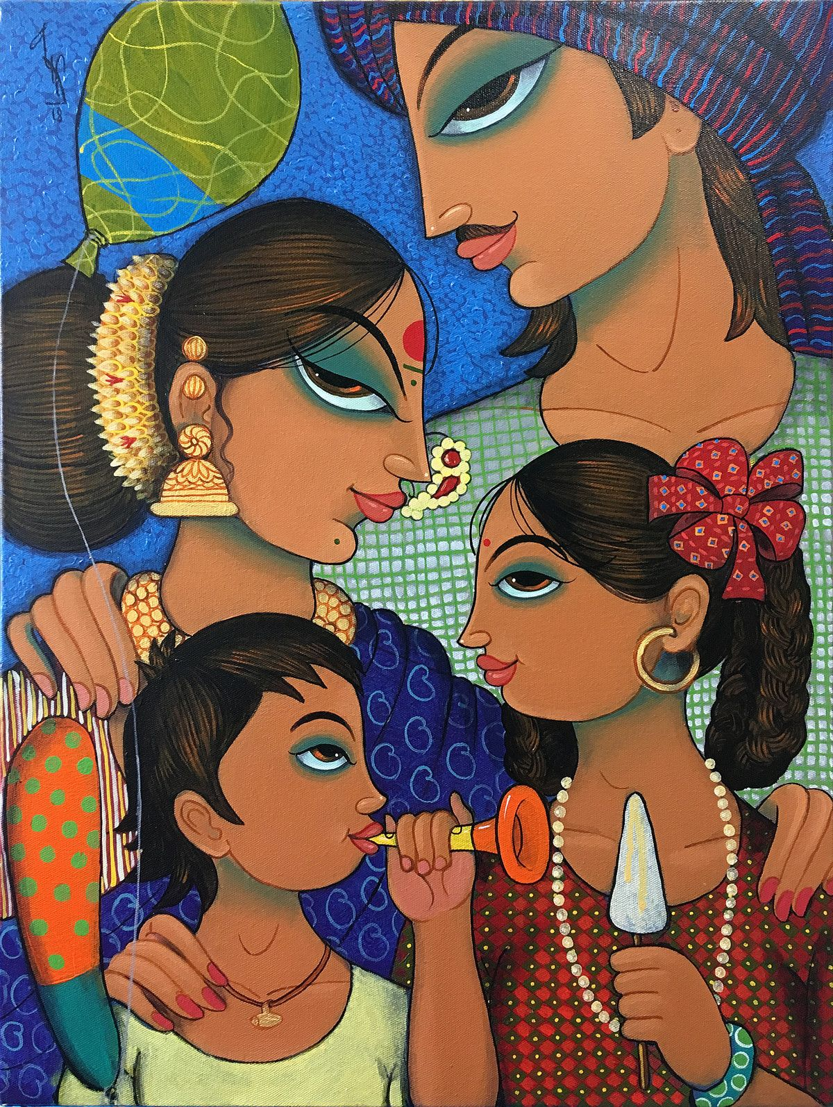 Mojarto Indian Art Paintings Indian Art Gallery Indian Folk Art