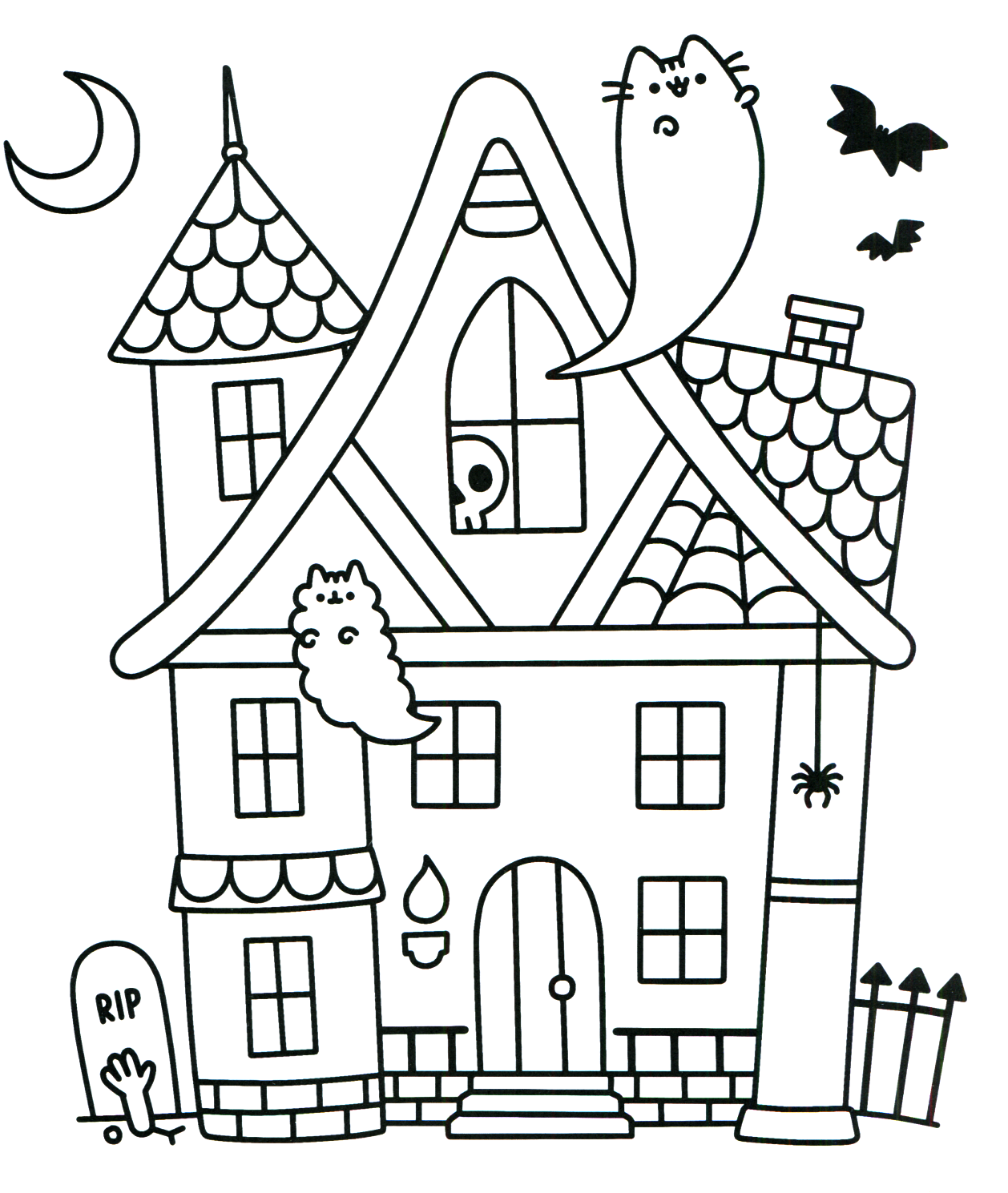 Pusheen Coloring Book Pusheen Pusheen the Cat | 適当2 | Pinterest ...