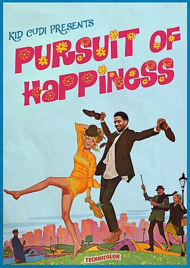 Pursuit Of Happiness Photographic Print By Adslibitum In 2021 Kid Cudi Poster Poster Prints Retro Poster