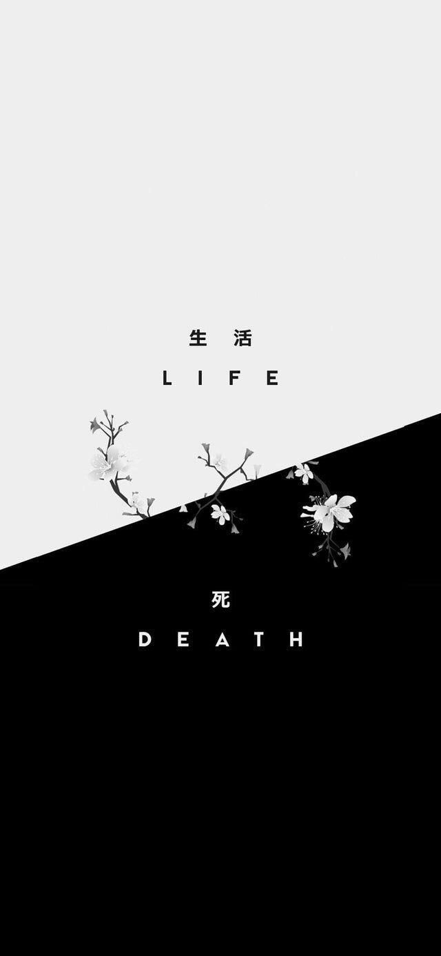 Life & death #curatedwallpapers #ctto