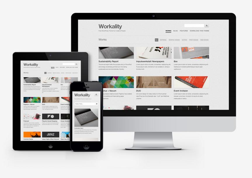 Free Portfolio WordPress themes http://www.webdesignspider.com/2014 ...