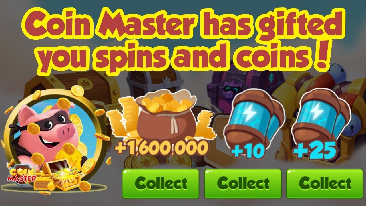 Coin master free spin and coin links for 21 oct 2019