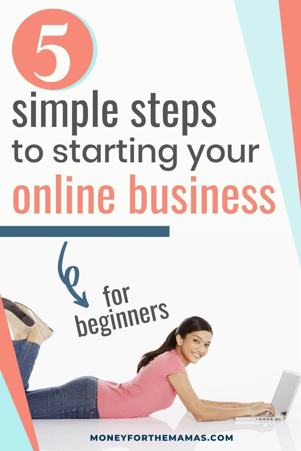 5 Simple Steps To Starting Your Own Online Business Online Business Starting Your Own Business Woman Business Owner