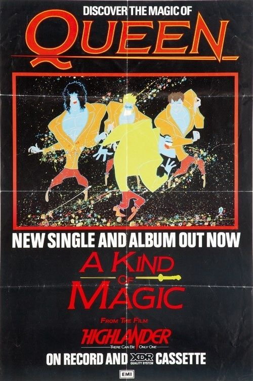 Pin By El Duce On Judge A Cover By Its Cover A Kind Of Magic Freddie Mercury Queen