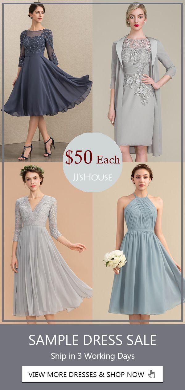 $50 Each! | Sample Dress Sale in Various Styles | JJ's ...