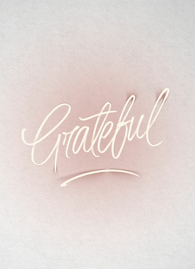 3 Things in the Past Year to be Grateful for.