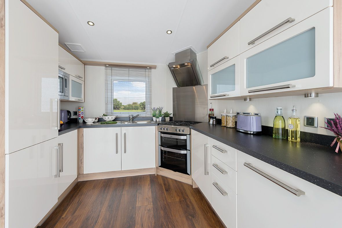 Caravan kitchen benchtops interior of caravans google for Contemporary kitchen colours