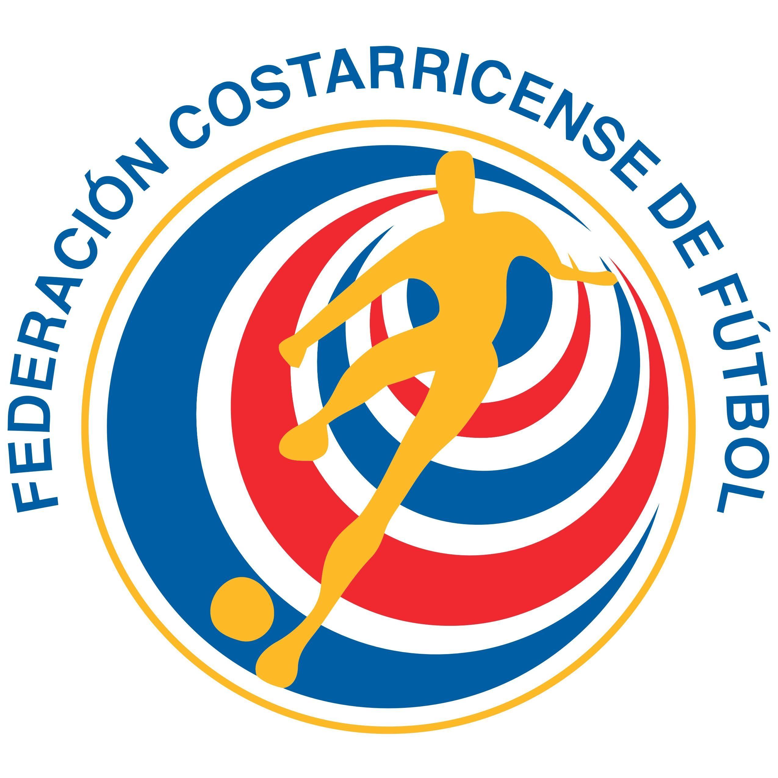 Costa Rican Football Federation Amp Costa Rica National Football Team Logo Kits De Futebol Costa Rica Escudos De Futebol