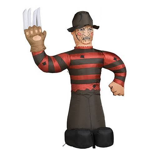 Nightmare on Elm Street Freddy Krueger Inflatable Display This is