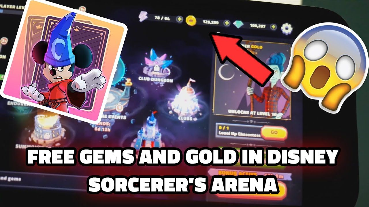 Disney sorcerers arena hack get free gems and gold in