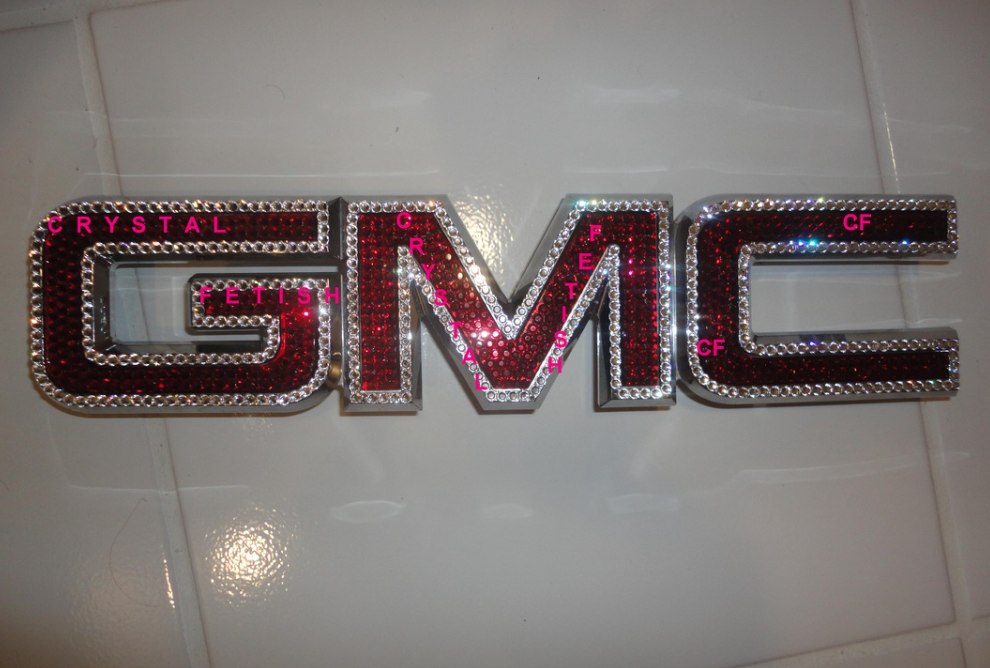 Gmc Swarovski Emblems In 2020 Gmc Accessories Gmc Car Shop