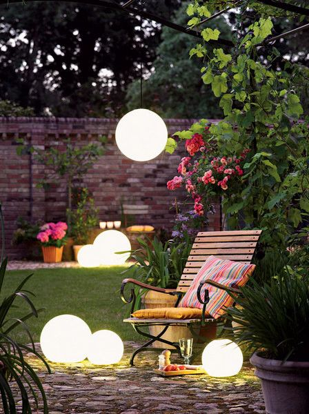 Solar Glowing Globes Decorative Solar Garden Lights Solar Lights Garden Backyard Lighting