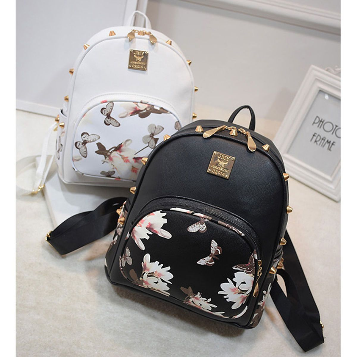 4cd4e6eb5b6b New Girl Leather School Bag Travel Cute Backpack Satchel Women Shoulder  Rucksack | eBay