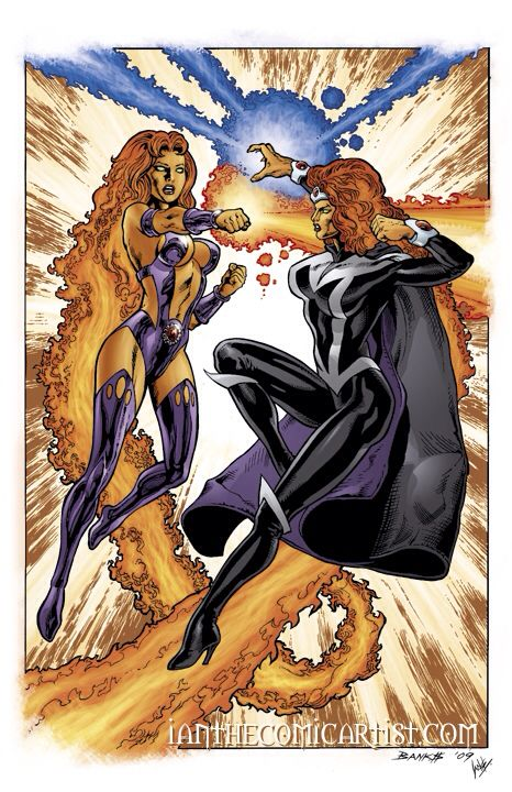 Starfire & Blackfire  DC Comics
