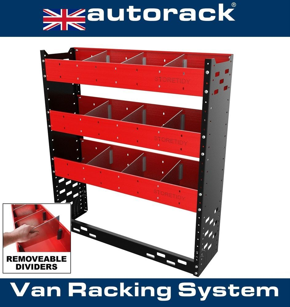 Van Racking System Shelving Unit Ideal For Transit