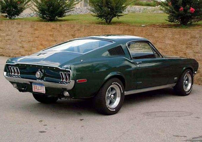 Dark Highland Green 1968 Ford Mustang 390 Fastback Mine Had