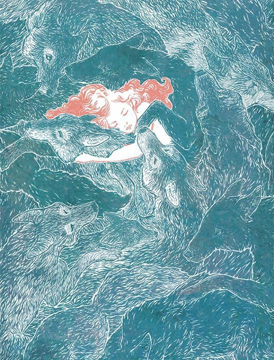 """1000drawings: """"by Rebecca Leveille Guay """""""