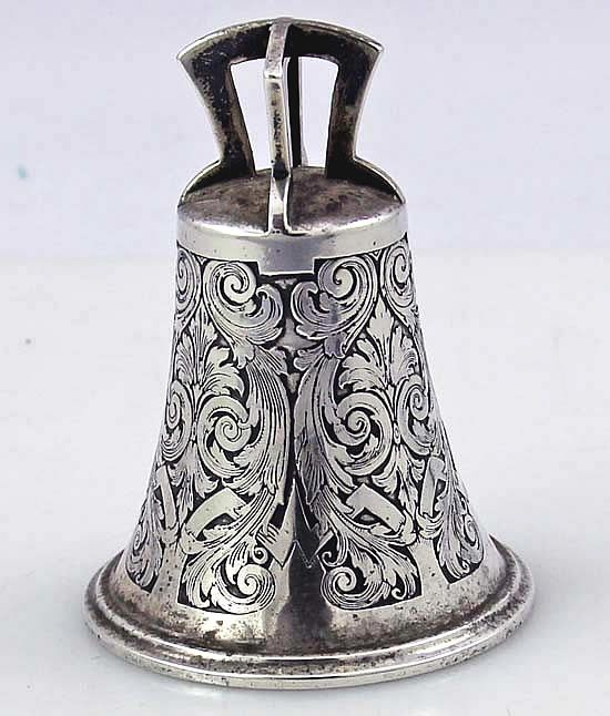 Kerr Antique Sterling Table Bell