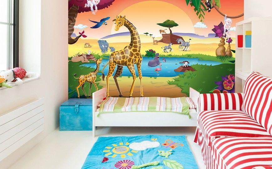 Déco murale jungle et savane ! | Décor mural chambre jungle ou ...