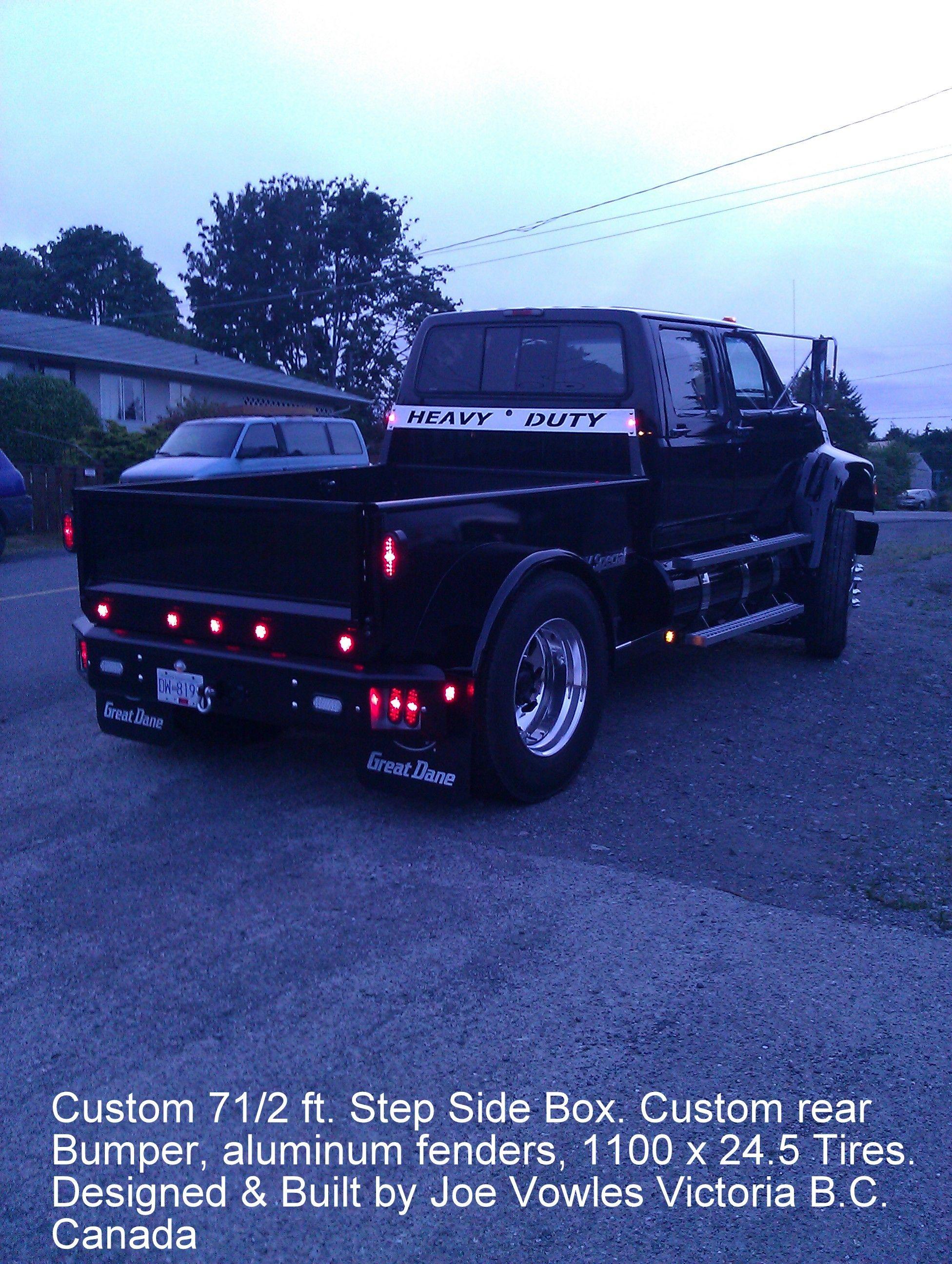 1998 Ford F800 - Custom Jacked Up Trucks, Ford Trucks, Small Trucks, Custom