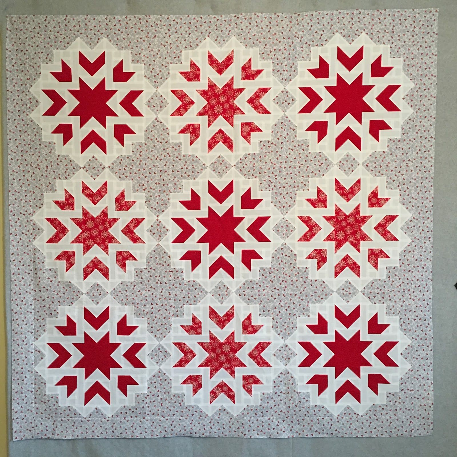 First Snow quilt by Cupcakes n' Daisies. Quilt pattern by ... : snow quilts - Adamdwight.com