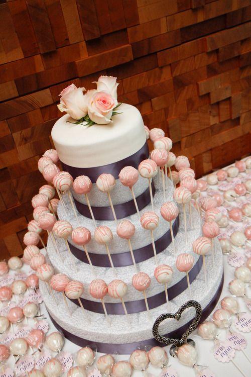 cake pop wedding here s an easy way to display your wedding treats